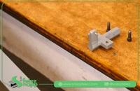 خمکاری ورق های فولادی در کارگاه خانگی