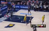 خلاصه بازی بسکتبال ایندیانا پیسرز - لس آنجلس کلیپرز