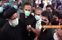 حضور آیت الله رئیسی در یکی از داروخانههای توزیع داروهای بیماری کرونا