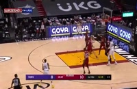 خلاصه بازی بسکتبال میامی هیت - فینیکس سانز
