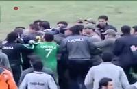 ضرب و شتم سعید شمس داور فوتبال
