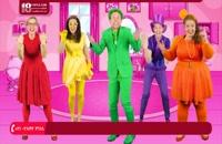 انیمیشن بونس پاترول - آموزش رنگ ها با لباس های متنوع