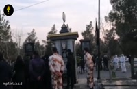 مراسم کامل خاکسپاری علی انصاریان