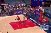 خلاصه بازی بسکتبال نیواورلینز - واشنگتن ویزاردز