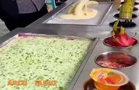 بستنی رولی