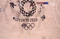 خلاصه بسکتبال ایران - فرانسه