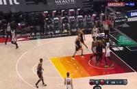 خلاصه بازی بسکتبال یوتا جاز - میامی هیت