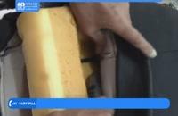 آموزش تودوزی خودرو - دوخت روکش پشتی صندلی جلو خودرو