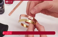 آموزش نحوه سمباده کشی در جواهر سازی