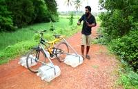 ساخت دوچرخه آبی   دوچرخه ای درست کنید که روی آب کار کند   M4 TECH  