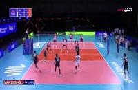 خلاصه بازی والیبال ایران - لهستان