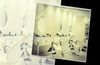 آینه و کنسول فایبرگلاس