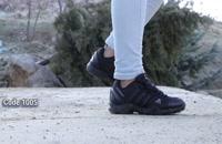 خرید کفش مردانه | کفش اسپرت مردانه آدیداس مشکی کد 1005