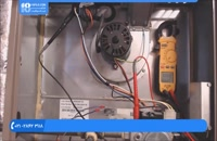 آموزش تعمیر کولر گازی - تست و تعویض سوییچ فشار کوره