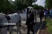 تشییع جنازه جورج فلوید - شهروند سیاهپوست آمریکایی