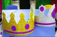ایده درست کردن کلاه کاغذی و مقوایی برای بچه ها
