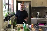 آموزش كباب ماهی به سبک جنوبی ها ماهی تیلا پیلا