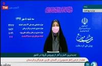 جدیدترین آمار کرونا در ایران - 8 مهر 99