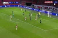 خلاصه بازی آژاکس 3 - میتیلند 1