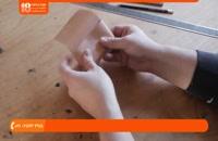 آموزش چرم دوزی - آموزش ساخت جاکارتی