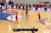خلاصه بسکتبال ایران - لتونی