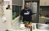 آموزش کباب کوبیده در ماهیتابه آسان ترین روش طبخ (باید حتما امتحان كنید) همراه با اموزش سیخ زدن !جواد