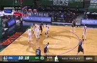 خلاصه بازی بسکتبال میلواکی باکس - دالاس ماوریکس