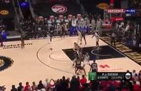 خلاصه بازی بسکتبال آتلانتا هاکس - میلواکی باکس