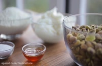 طرز تهیه کره پسته کرمی