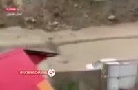 جاری شدن سیل - سوادکوه