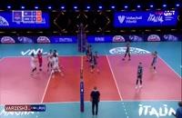خلاصه بازی والیبال ایران - آرژانتین