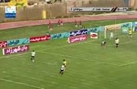 خلاصه مسابقه صنعت نفت آبادان 1 - سپاهان 2