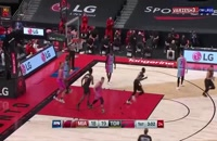 خلاصه مسابقه بسکتبال تورنتو رپترز - میامی هیت