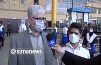 زائران مبتلا به کرونا قرنطینه میشوند