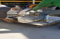فن سانتریفیوژ ۶۳۰mm تمام استیل فشار قوی با متور دیزل