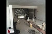 سالن غذاخوری با دکوراسیون خاص در هلدینگ شریفی