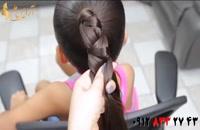 فیلم آموزش چند روش جدید بافت مو + آرایش مو