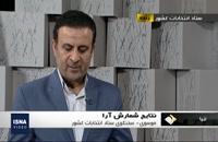 اعلام نتایج انتخابات مجلس یازدهم در برخی حوزه های انتخابیه - ساعت 9:15 صبح