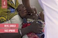 نحوه زدن واکسن به کودکان