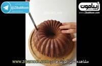 """ایده ی خلاقانه برای تزئین کیک میوه! (زیرنویس""""زیبامون"""")"""