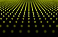 پس زمینه فناوری انتزاعی الگوی نقطه های 3D