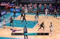خلاصه بازی بسکتبال شارلوت هورنتس - بروکلین نتس
