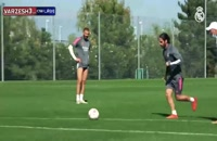 تمرینات امروز تیم رئال مادرید (19-07-99)