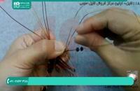 آموزش ساخت گردنبند مسی با طرح عقرب
