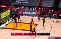خلاصه بازی بسکتبال میامی هیت - آتلانتا هاوکس