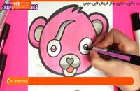آموزش نقاشی به کودکان - نحوه نقاشی کردن بچه خوک