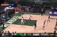 خلاصه بازی بسکتبال بروکلین نتس - میلواکی باکس