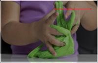 طریقه ی ساخت اسلایم با خمیر دندان و مایع ظرفشویی