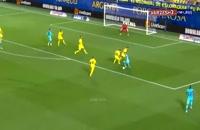 عملکرد لیونل مسی در بازی مقابل ویارئال