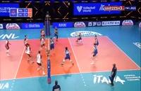خلاصه بازی والیبال لهستان - ایتالیا